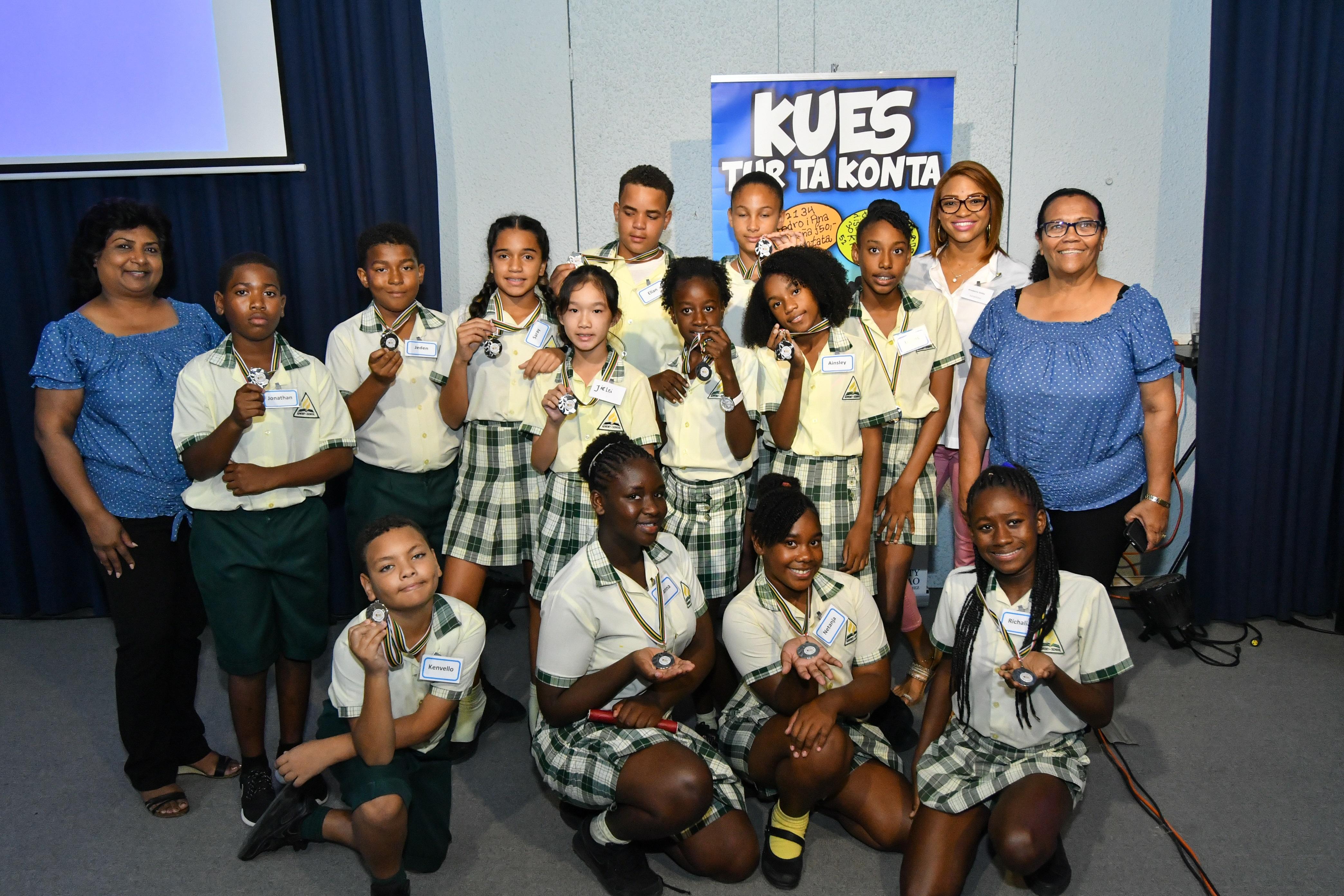 3de prijs Adventschool Bonam scholencompetitie 4 maart 2018