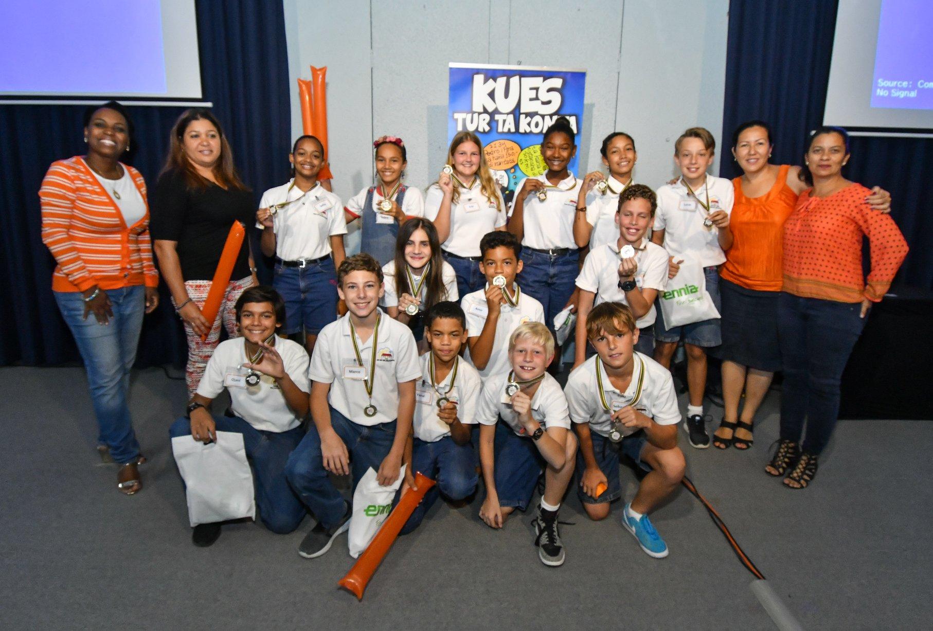 winnaar scholencompetitie Kues 20172018