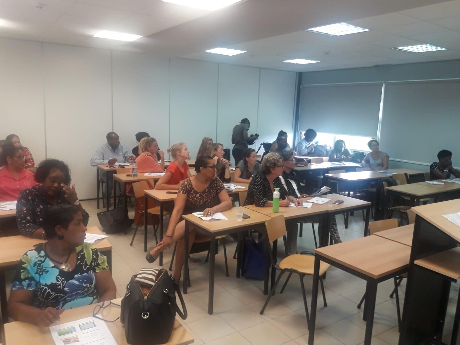 FO leerkrachten tijdens workshop Menne